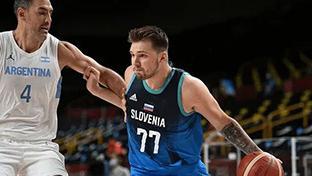 东契奇首秀狂砍48+11!斯洛文尼亚男篮大胜阿根廷