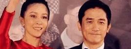 刘嘉玲宣布:梁朝伟要当爸 但不是我的